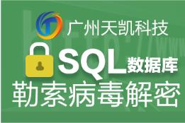 SQL Server数据库误删误操作恢复|勒索病毒mdf加密恢复|置疑恢复|集群安装|故障排查|性能优化|代运维服务