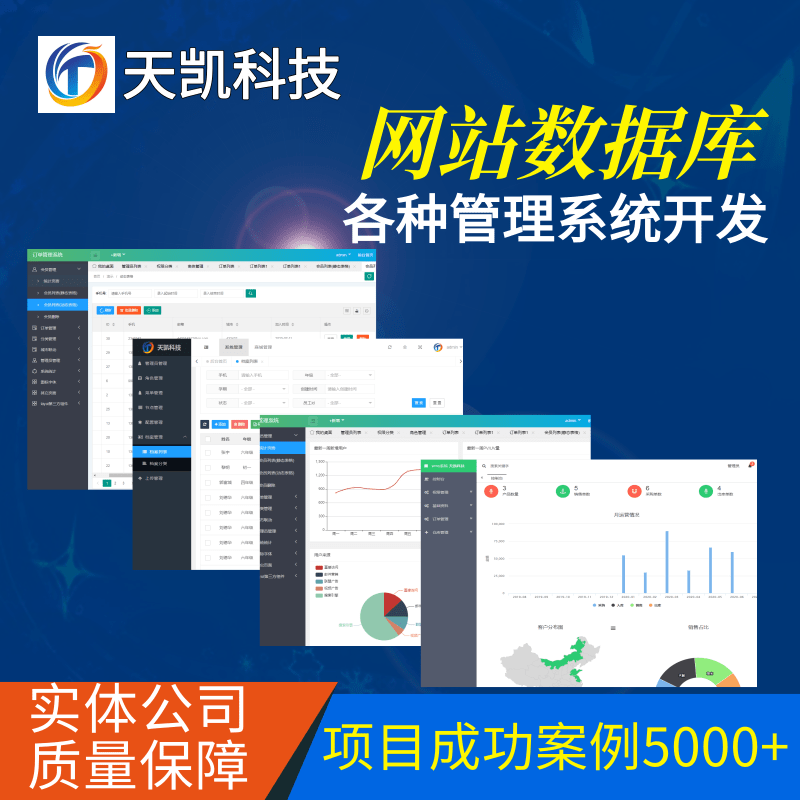 ThinkPHP/Django企业管理系统开发|网站数据库定制开发|各行业数据录入查询分析系统设计