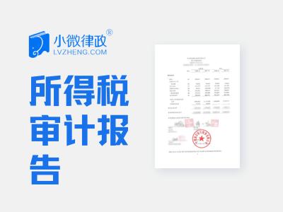 北京企业所得税审计报告