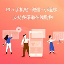 瑞蚁 企业在线商城 B2C商城网站 大容量空间