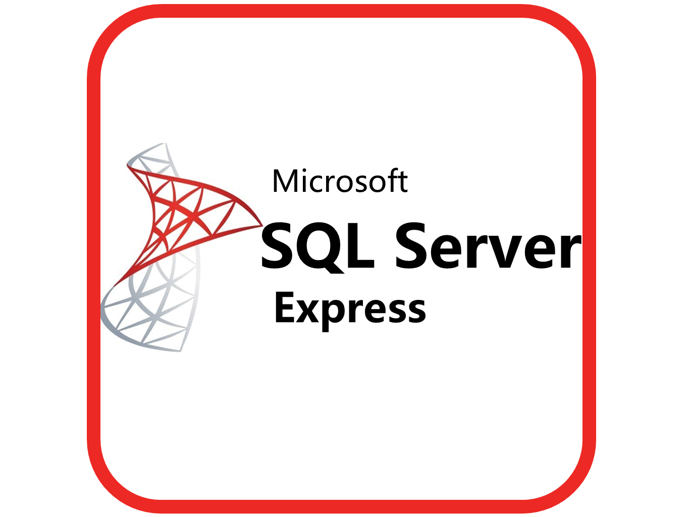 SQL Server 2014 Express  (Windows Server 2012)