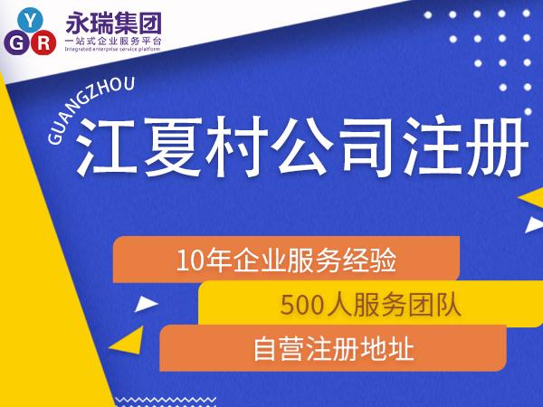 广州江夏村注册小公司公司办理代办