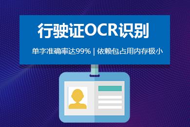 思图场景-行驶证OCR文字识别/印刷文字识别
