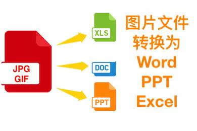 任意图片转Word/PPT/Excel等