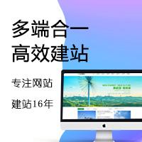 多端合一网站建设/模板网站/PC端+移动端/企业官网/门户网站/行业