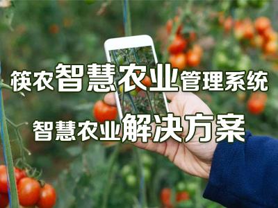 筷农智慧农业管理系统/智慧农业解决方案/智慧农业系统
