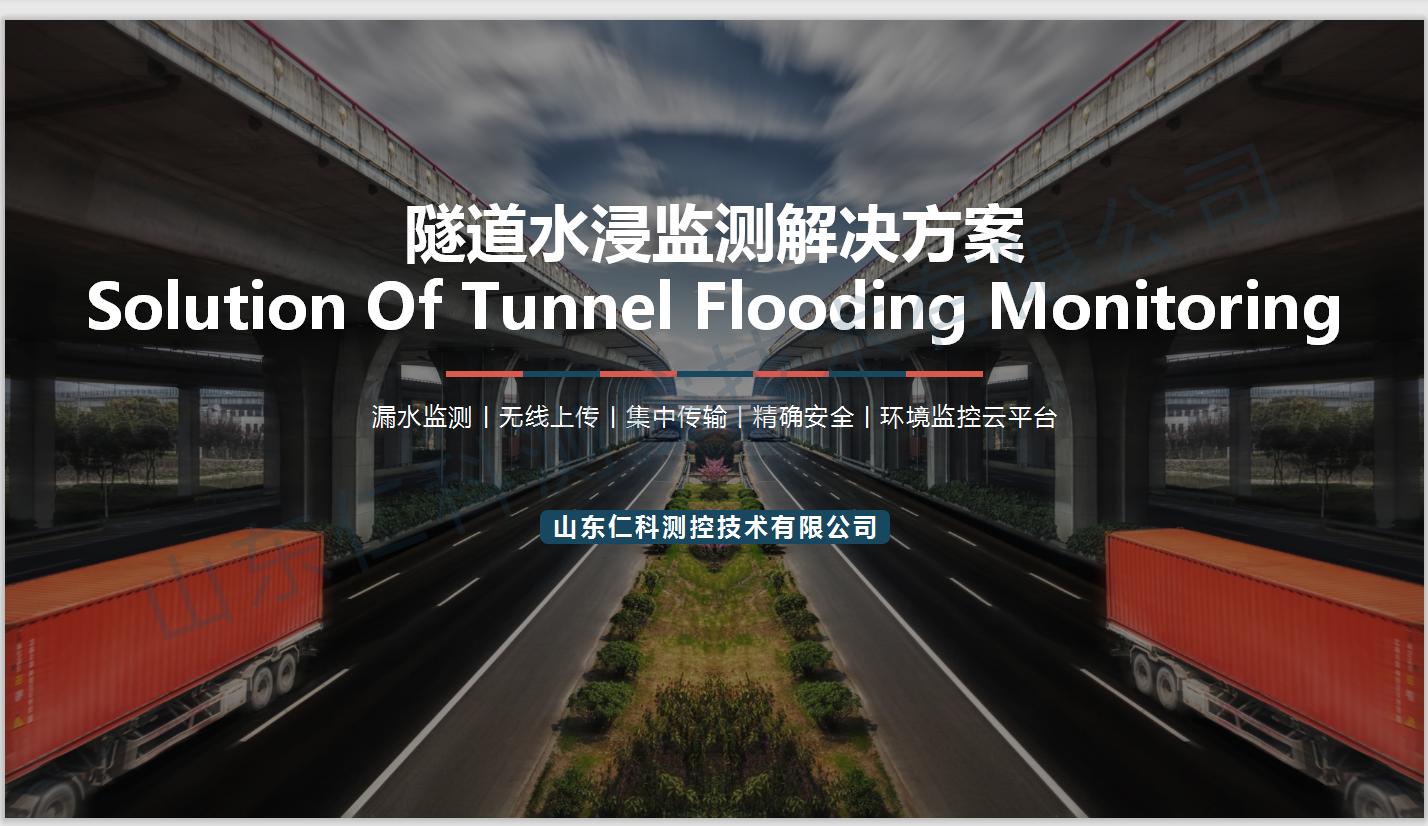 隧道水浸监测解决方案