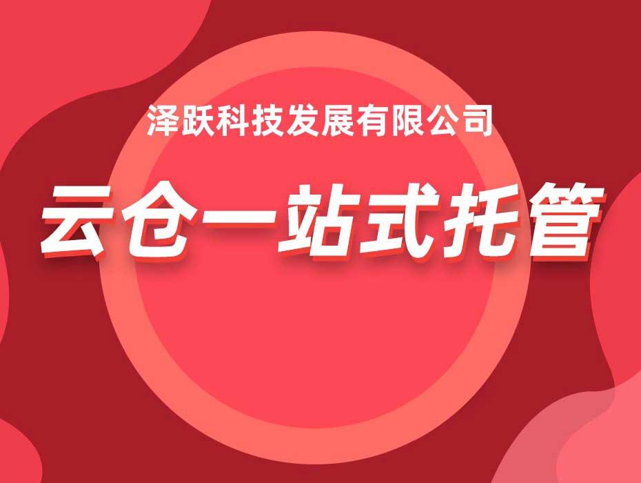 云仓一站式服务(不含数据)(广东、福建)