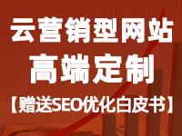 【云·定制营销型网站】营销型网站定制、金牌设计师一对一设计、满意为止。
