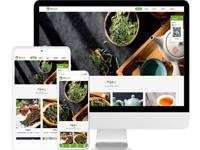 茶叶公司免费网站模板源码